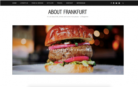 About Frankfurt - a Blog about life