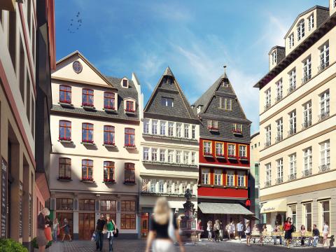 Römer frankfurt neubau altstadt