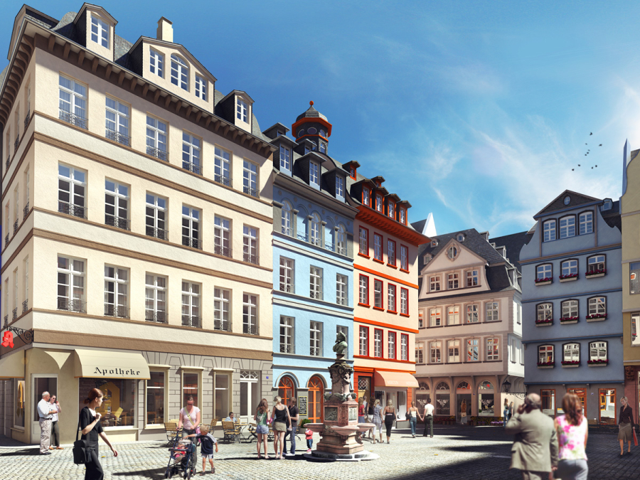 DomRömer Project - Reconstruction of Frankfurt's Old Town