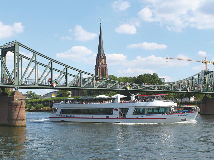 River Cruises Frankfurt Tourism - Frankfurt river