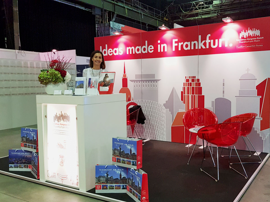 Messestand LOCATIONS Rhein-Main
