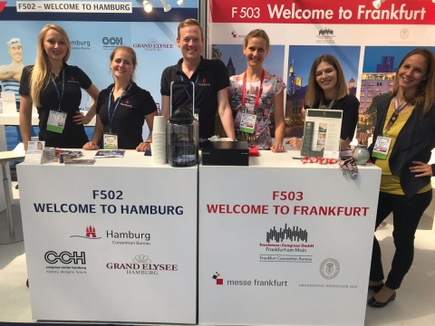 MICE-Messestand Meetings Show 2018©#meetfrankfurt