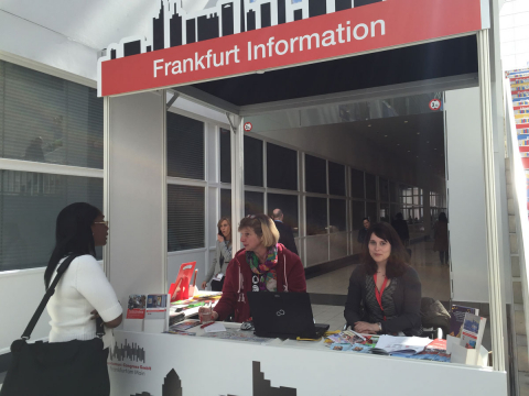 Tourist Information Counter at the IMEX