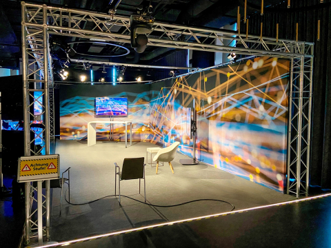 Video: Einblick in das Broadcast-Studio