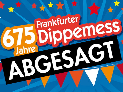 675 Jahre Dippemess Absage