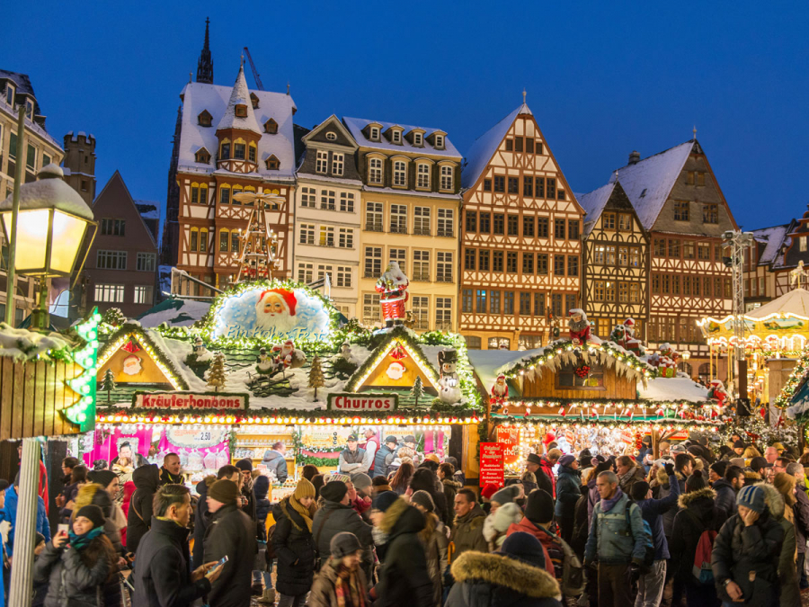 Christmas Markets In Germany 2019.Christmas Market Frankfurt Tourism
