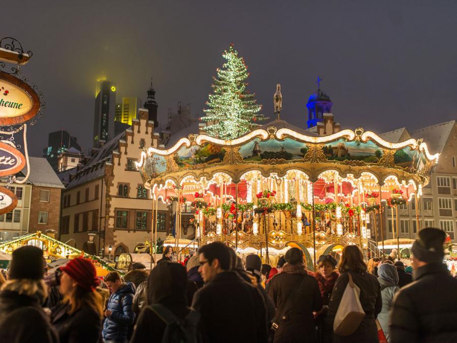 Goetheturm Frankfurt Weihnachtsmarkt.Weihnachtsmarkt Frankfurt Am Main