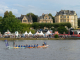 Dragon boat race during Museum Embankment Festival