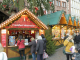 Booth of the Frankfurt Tourist Information at the Christmas market