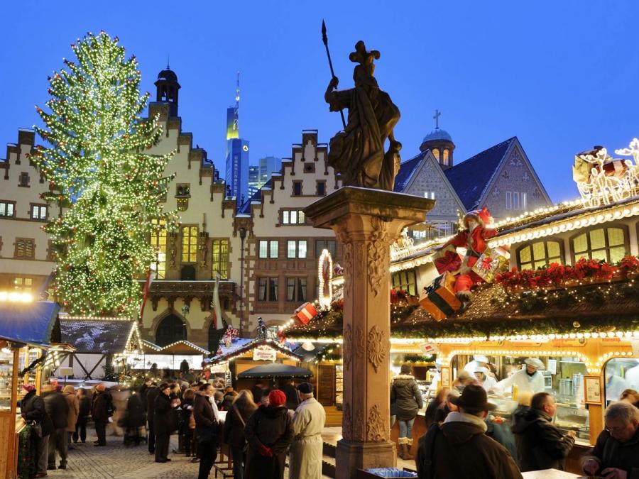 christmas market frankfurt tourism. Black Bedroom Furniture Sets. Home Design Ideas