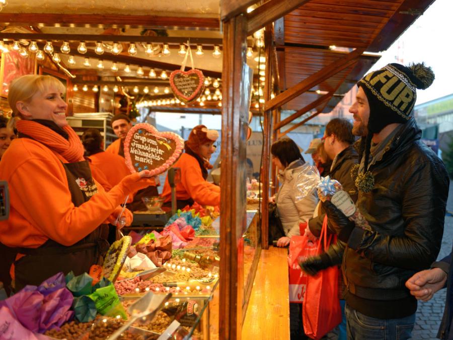 Christmas Market Food Stalls