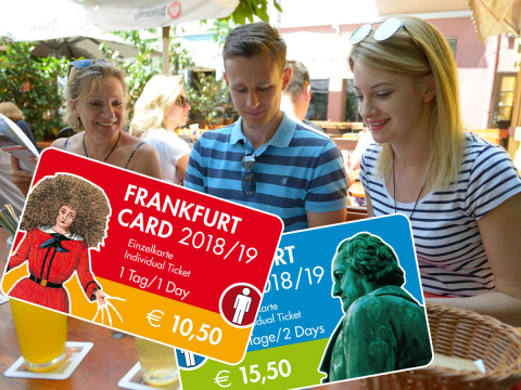 Discover Frankfurt on your own