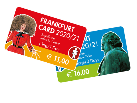 Frankfurt Card per Post
