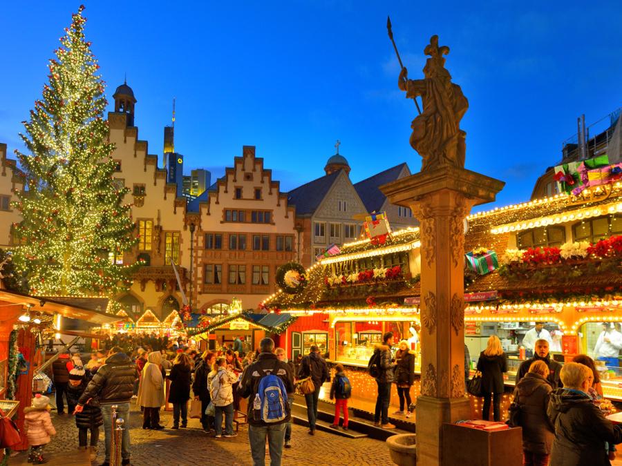 Weihnachtliches Frankfurt