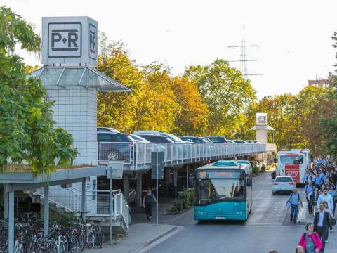 Park & Ride Frankfurt