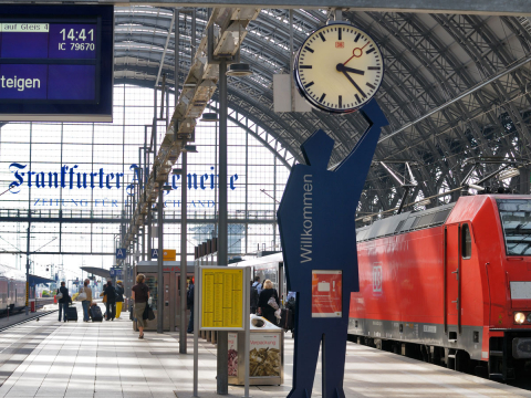 Travel Industry Card Deutsche Bahn