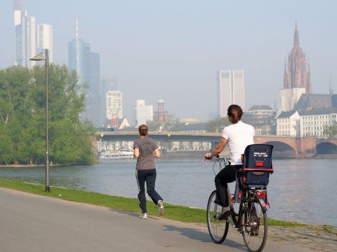 Cycling in Frankfurt