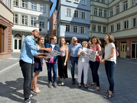 Guided Tour: Frankfurt highlights and the new Frankfurt old town