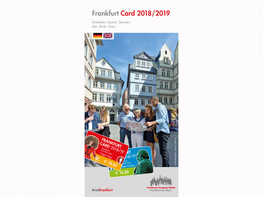 Flyer Frankfurt Card