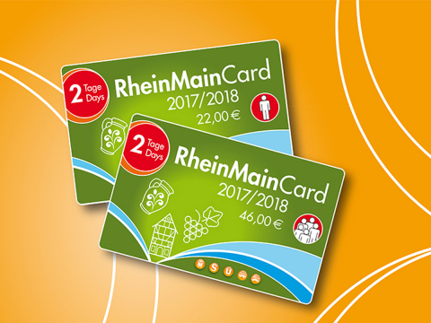 RMC RMCard RheinMainCard Ticket
