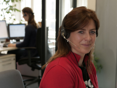 #Zimmerreservierung - Call Center