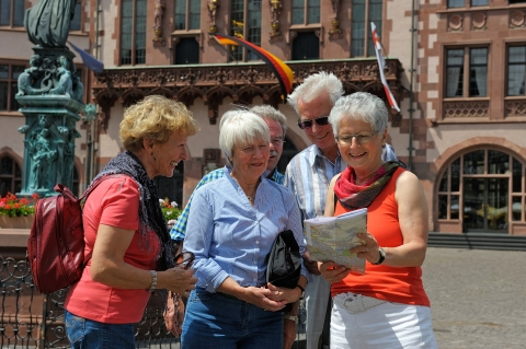 Guided Walks for Groups