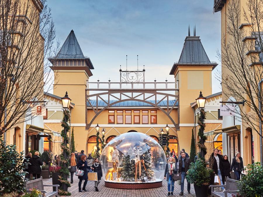 Wertheim Village Weihnachten